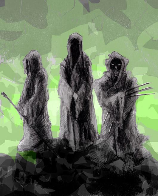 Temné pláště